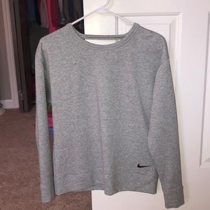 Gray Nike Pullover